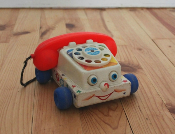le t l phone jouets fisher price vintage you are collector. Black Bedroom Furniture Sets. Home Design Ideas